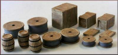 PM101 Crates Barrels Sacks