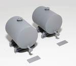PM141 Storage Tanks x2 (55mm) plus supports