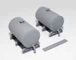 PM142 Storage Tanks x2 (72mm) plus supports